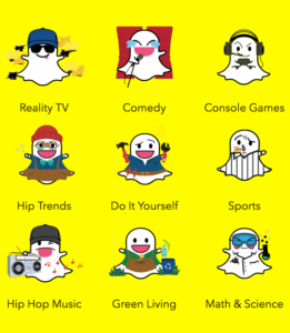 snapchat-lifestyle-categories