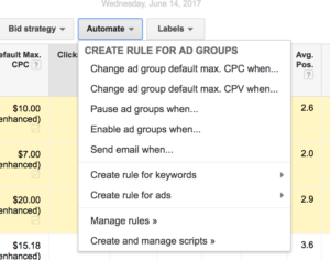 Automated-rules-adwords