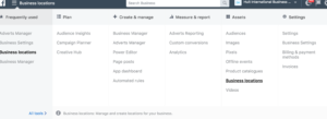 Facebook-Business Manager-Locations