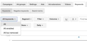 keyword-report-adwords