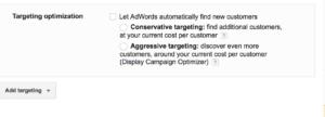 targeting-optimisation-google