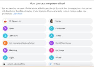 ad-personalization-google