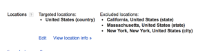 google-adwords-geographic exclusions